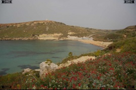 Gnejna Bay Malta Mgarr beach Lippia Tower photographs