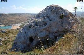 menhirs maltas bennejja tempju postijiet megalith Gnejna Bay beach Malta