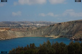 Ghajn Tuffieha Bay clay cliffs Gnejna Bay malta photographs