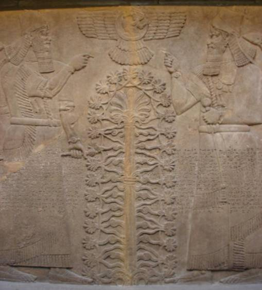 Babylonian Sacred Tree Babylonians Tree of Llife