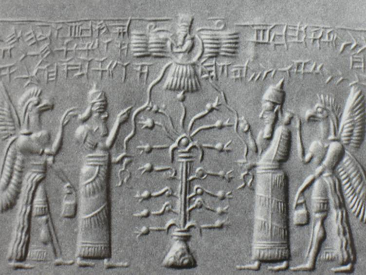 Babylonian Sacred Tree Than Later Sacred Trees of
