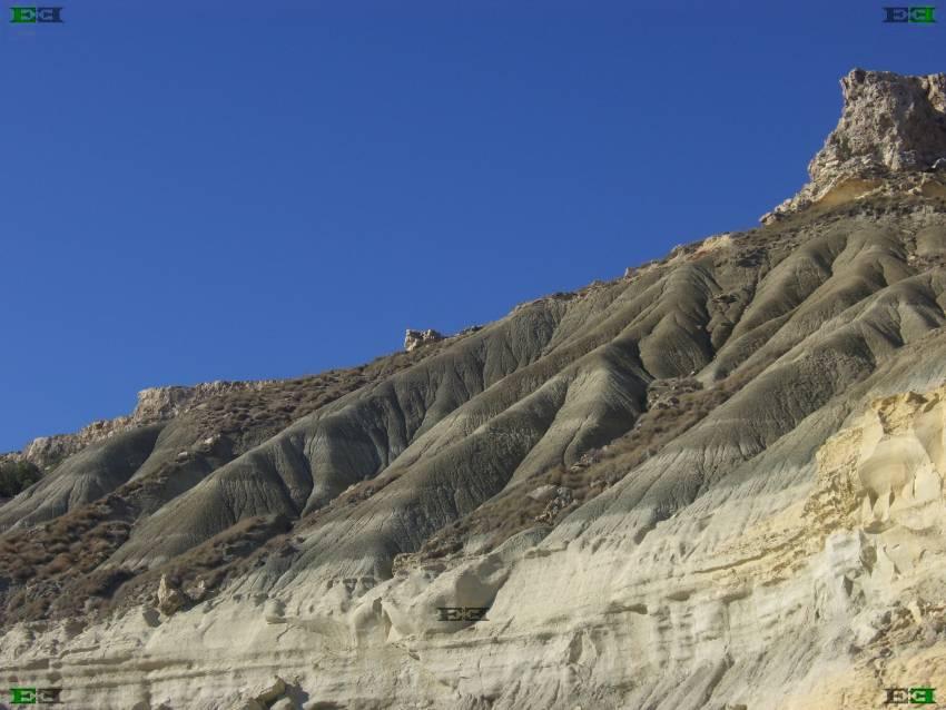 Green Blue Clay Talus Extrusions Cliffs Photos Malta