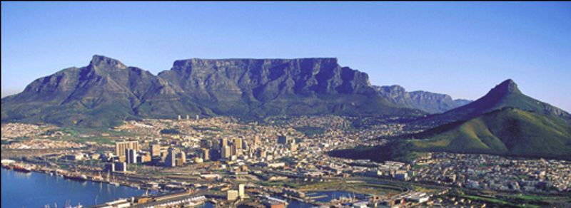 Tabletop Mountain Cape Town South Africa - Table top mountain south africa